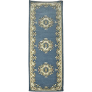 Jewel Blue - Hand Tufted wool Rug Runner - Stella Rugs