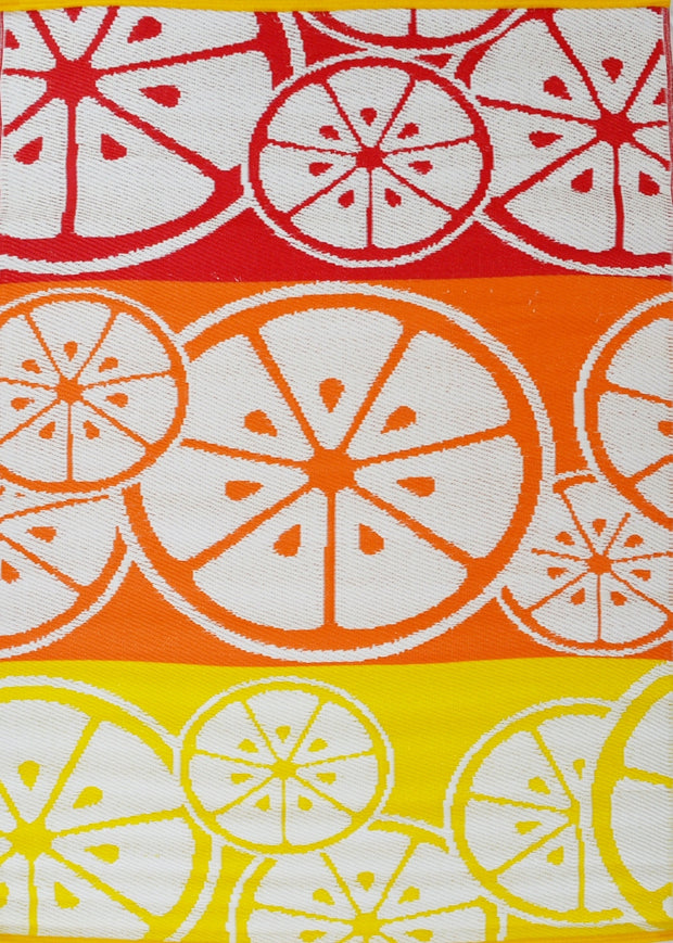 Oranges Multi Outdoor Rug - Stella Rugs