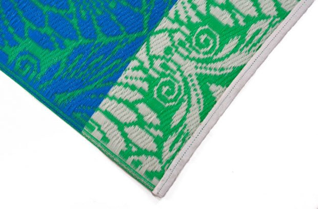 Peacock Green Outdoor Rug - Stella Rugs