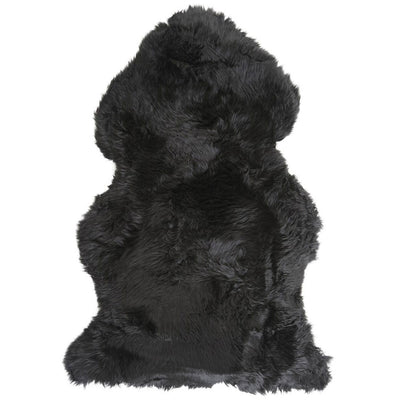 Sheepskin Merino - Black - Stella Rugs