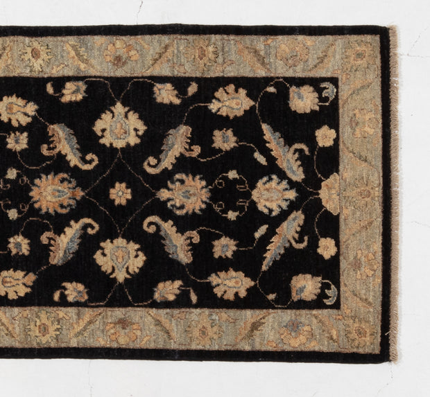Afghan Hezari Choobi Hand Knotted Wool Floor Rug 79*128