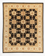 Afghan Hezari Choobi Hand Knotted Wool Floor Rug 244*301