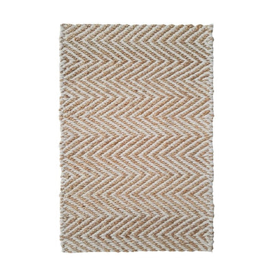 Jute and PET - Wavy Chevron Rug - Stella Rugs