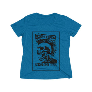 The Moose::Exception (Women's Heather Wicking Tee)