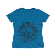 Load image into Gallery viewer, Pipegrepper's Union (Women's Heather Wicking Tee)
