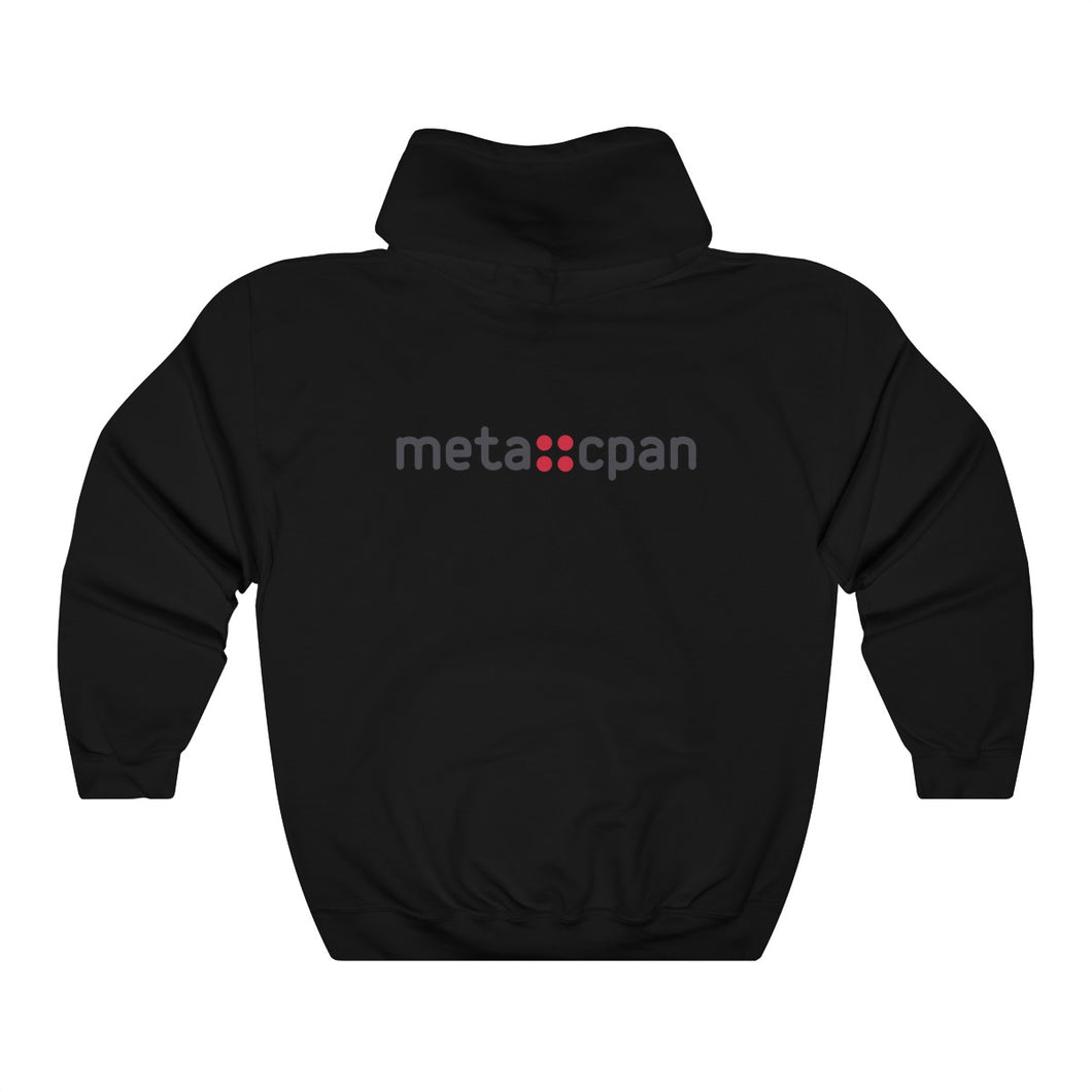 meta::cpan - back (Unisex Heavy Blend™ Hooded Sweatshirt)