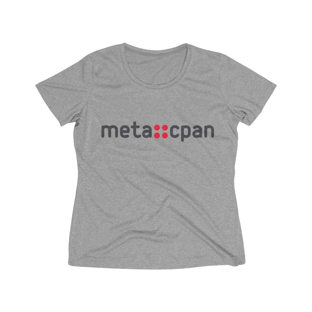 meta::cpan (Women's Heather Wicking Tee)
