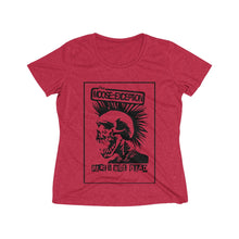 Load image into Gallery viewer, The Moose::Exception (Women's Heather Wicking Tee)