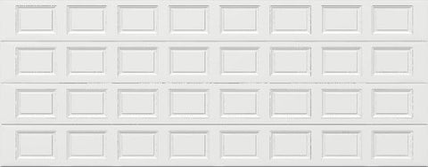 18' x 7' Traditional Steel Garage Door (Standard)