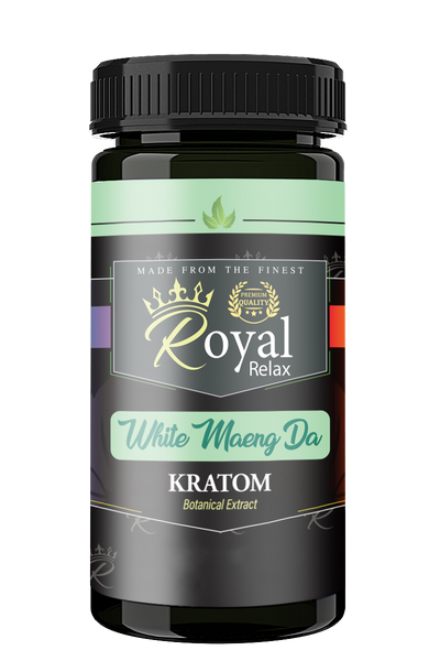 Royal Relax Kratom White Maeng Da Powder