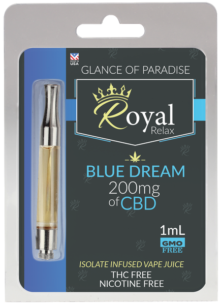 Royal Relax 200mg 1ml Blue Dream