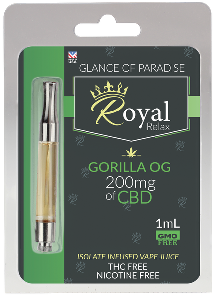 Royal Relax 200mg 1ml Gorilla OG