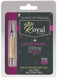 Royal Relax 200mg 1 ml Sour Diesel