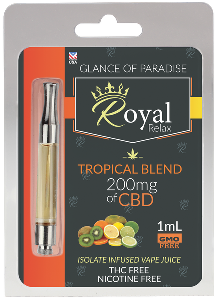 Royal Relax 200mg 1ml Tropical Blend