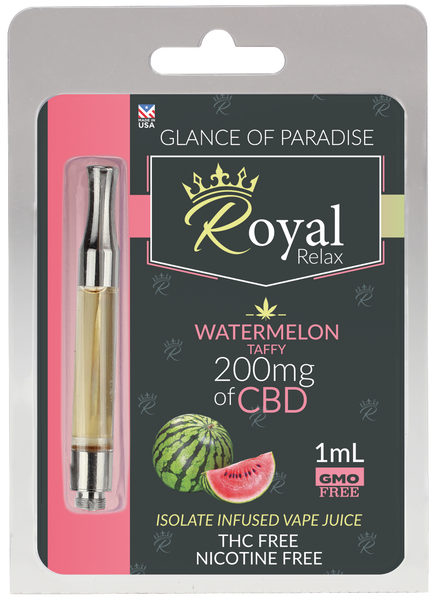 Royal Relax 200mg 1ml Watermelon Taffy