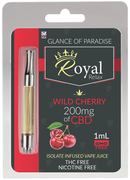 Royal Relax 200mg 1ml Wild Cherry