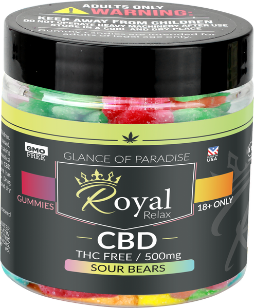 Royal Relax 500mg Sour Bears