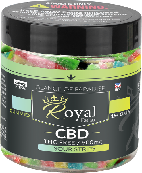 Royal Relax 500mg Sour Stripes