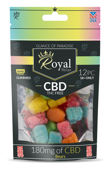 Royal Relax 6ct 180mg Bears