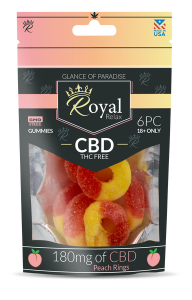 Royal Relax 6ct 180mg Peach