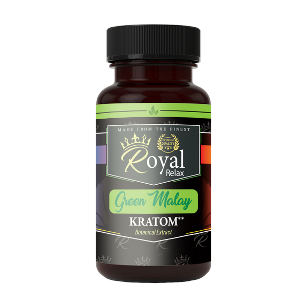 Royal Relax Kratom Green Malay Capsules