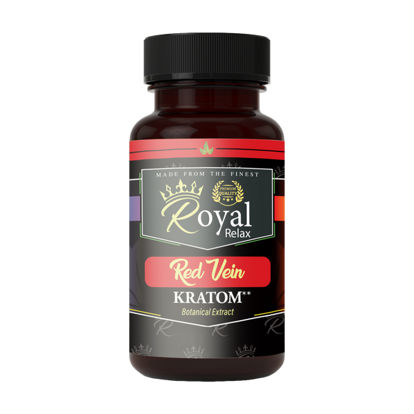 Royal Relax Kratom Red Vein Capsules