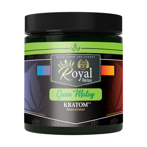 Royal Relax Kratom Green Malay Powder