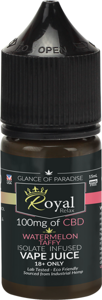 Royal Relax Watermelon Taffy 15ml