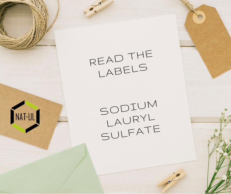 Detergents in cosmetics-Sodium Lauryl Sulfate