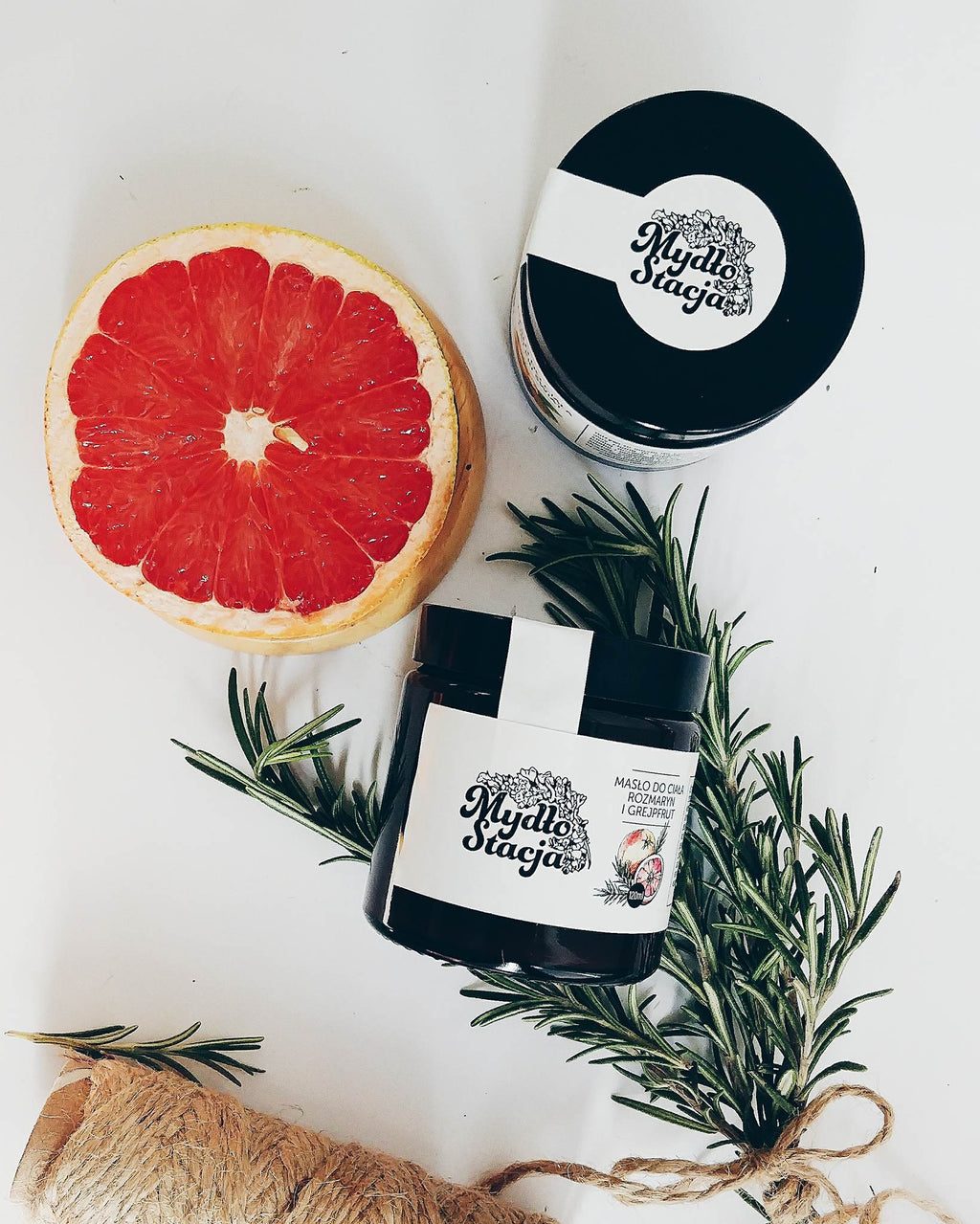 Body Butter Rosemary and Grapefruit
