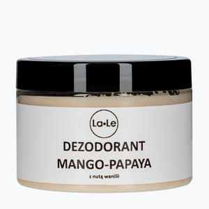 Cream Deodorant - Mango and Papaya