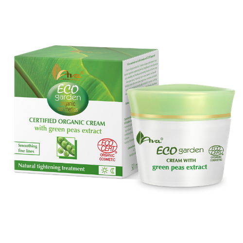 ECO GARDEN Certifed Organic Cream with Green Peas Extract 50+, Face creams, Ava, Nat-ul