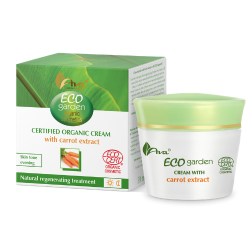 ECO GARDEN Certifed Organic cream with carrot extract, Face creams, Ava, Nat-ul