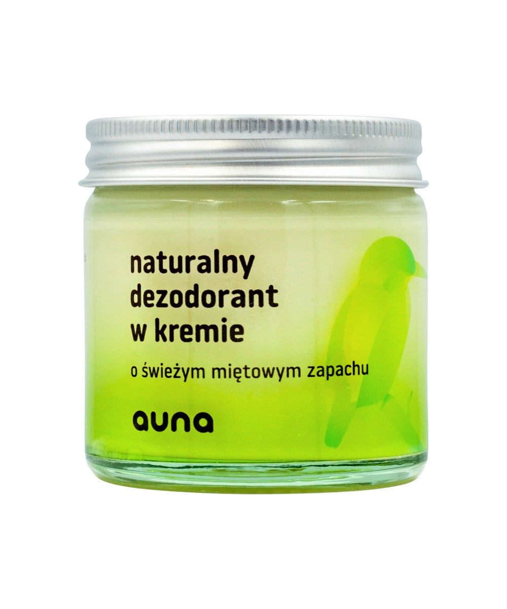 Natural Deodorant in Cream- Subtle Mint, Deodorant, Auna Vegan, Nat-ul