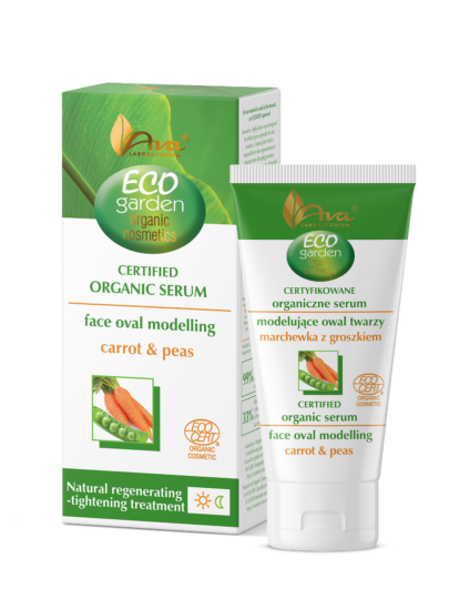 ECO GARDEN Certifed Organic Face Oval Modelling Serum Carrot & Peas 45+