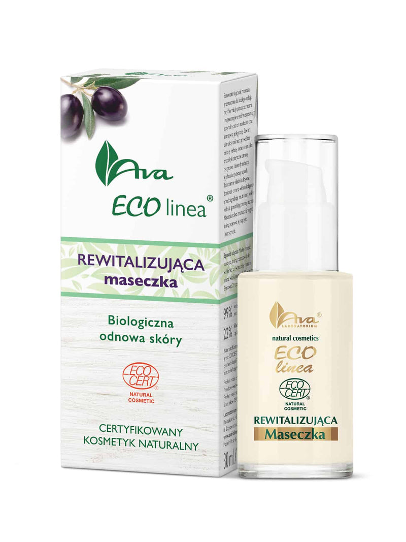 ECO LINEA Revitalising Self Absorbing Face Mask