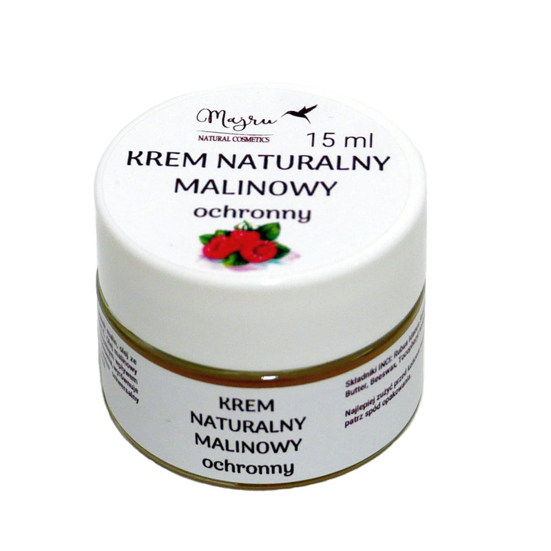 Raspberry Cream, Face creams, Majru, Nat-ul