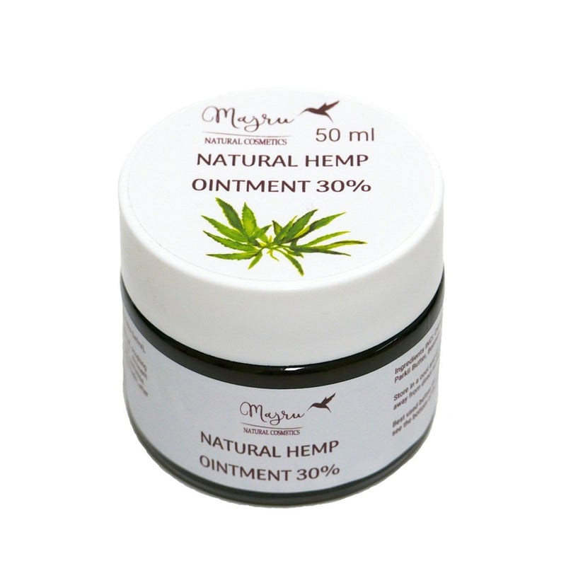 Hemp Seed Oil Ointment 30%, Face creams, Majru, Nat-ul