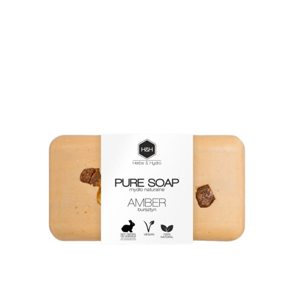 Pure Soap- Amber, Soaps, Herbs & Hydro, Nat-ul