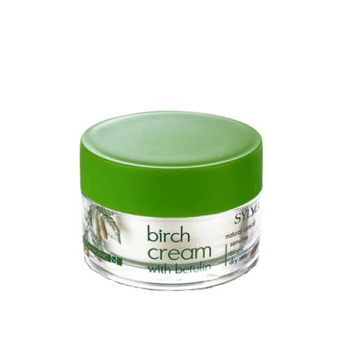 Birch Moisturising Cream with Betulin, Face creams, Sylveco, Nat-ul