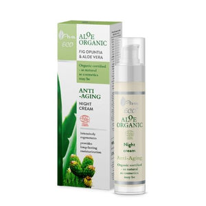 Aloe Organic - Fig Opuntia and Aloe Vera Night Cream, Face creams, Ava, Nat-ul