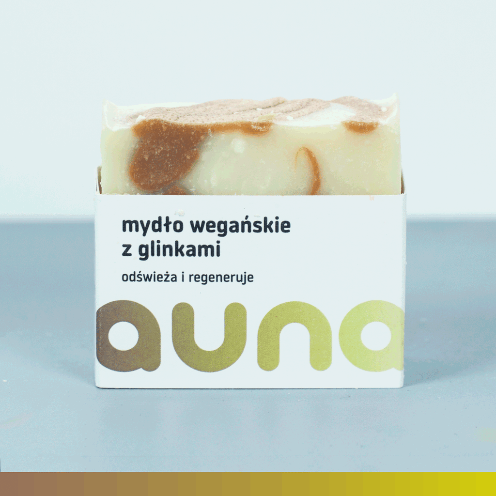 Soap Bar with White and Red Clay, Soap, Auna Vegan, Nat-ul