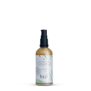 Body Oil with Chia Seed Oil and Golden Dust