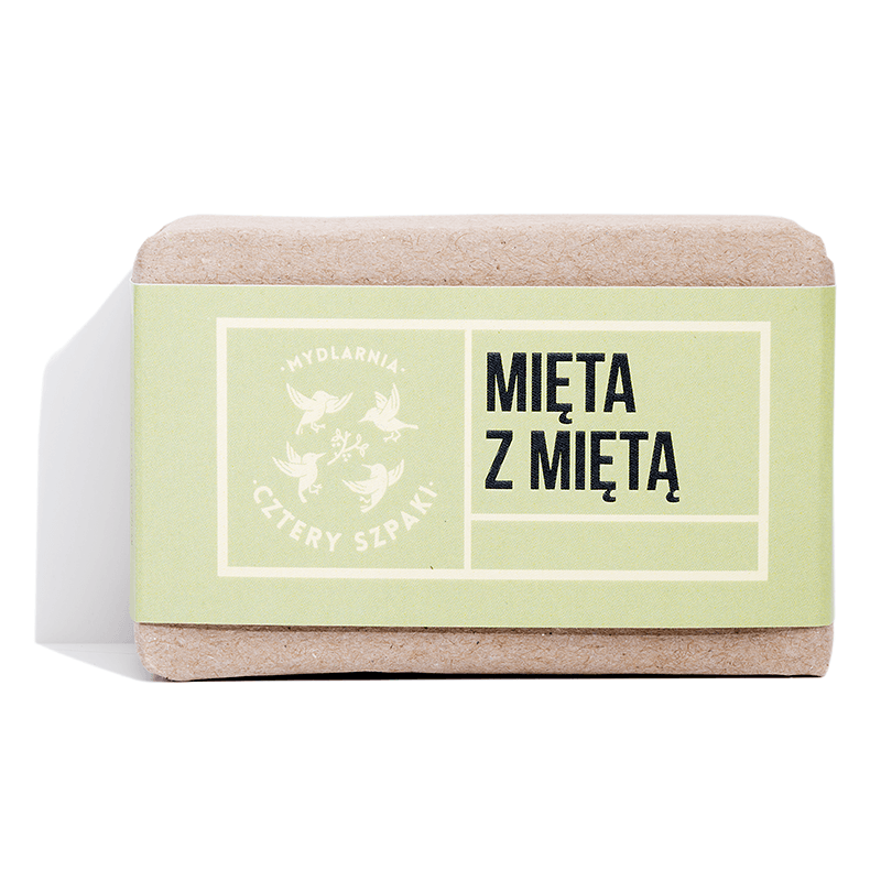 Mint with Mint Soap, Soaps, Cztery Szpaki, Nat-ul