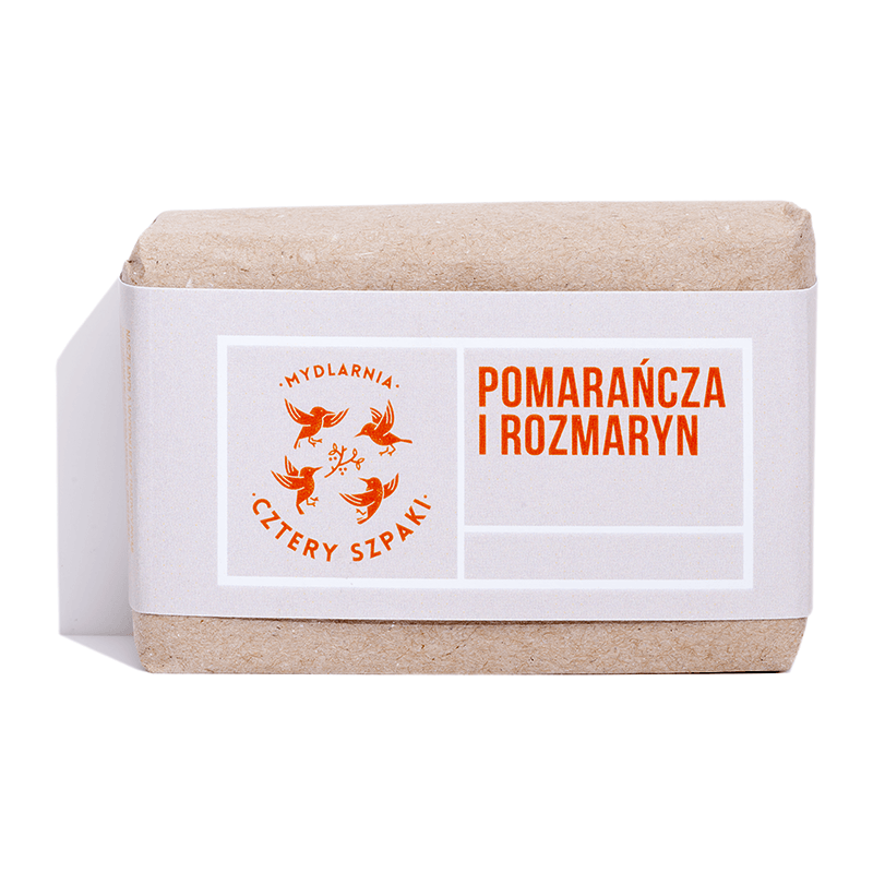 Orange and Rosemary Soap, Soaps, Cztery Szpaki, Nat-ul