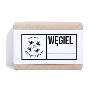 Charcoal Soap for Acne, Soaps, Cztery Szpaki, Nat-ul