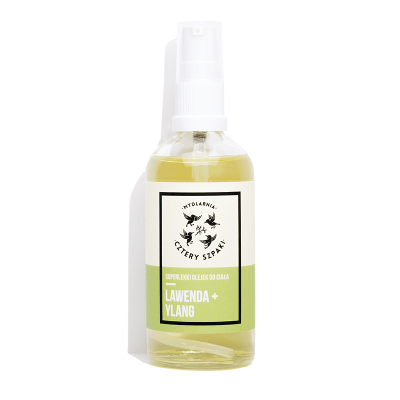 Superlight Body Oil Lavender + Ylang, Oils, Cztery Szpaki, Nat-ul