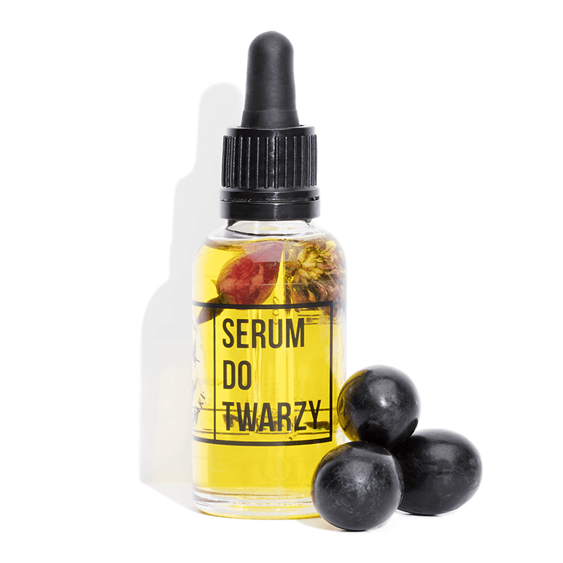 Face Serum with Clover Flower and Vitamin C, Serum, Cztery Szpaki, Nat-ul