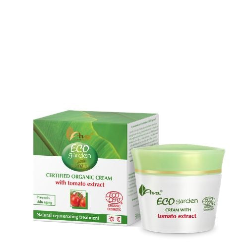 ECO GARDEN Certifed Organic Cream with Tomato Extract 40+, Face creams, Ava, Nat-ul