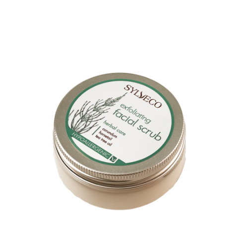 Exfoliating Facial Scrub, Facial scrubs, Sylveco, Nat-ul